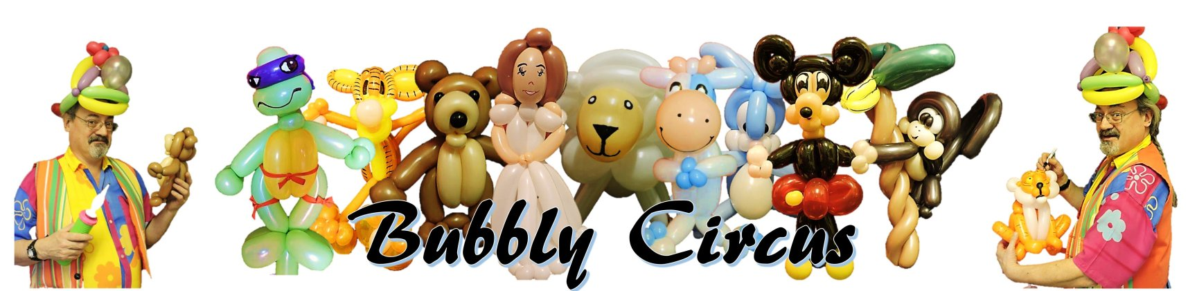 Bubbly Circus Banner